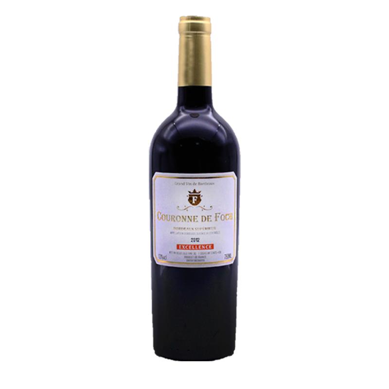 法国进口红酒 福熙皇冠2012 COURONNE DE FOCH