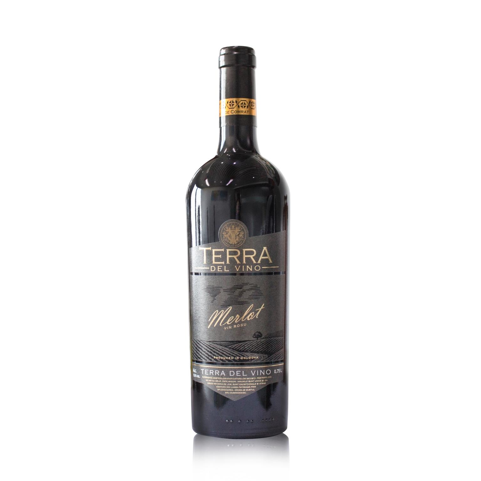 阳光之国 摩尔多瓦科姆拉茨酒庄 泰拉德尔维诺梅洛红葡萄酒 750ML