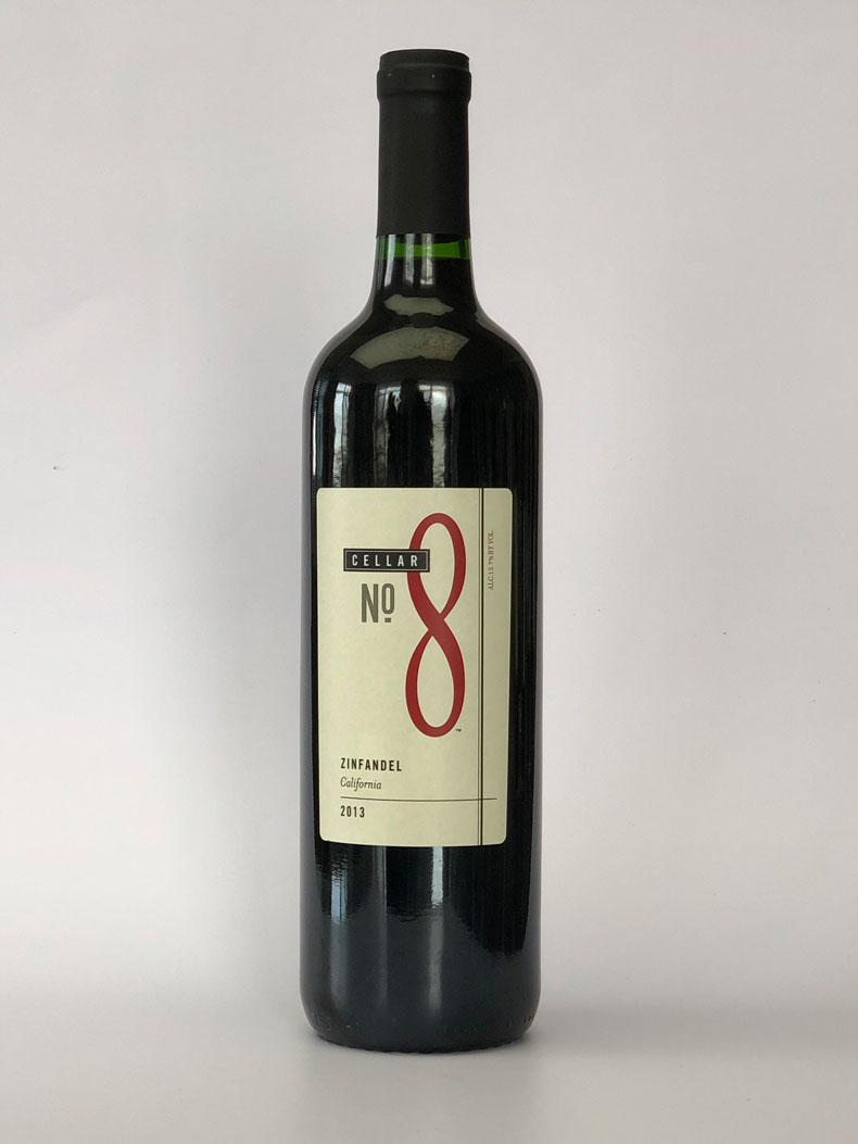 8号酒窖加州仙粉黛干红葡萄酒