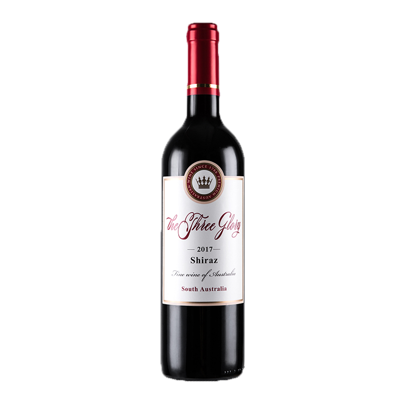 澳大利亚原瓶原装进口红酒 澳洲三世荣耀西拉干红葡萄酒750ml 单支装