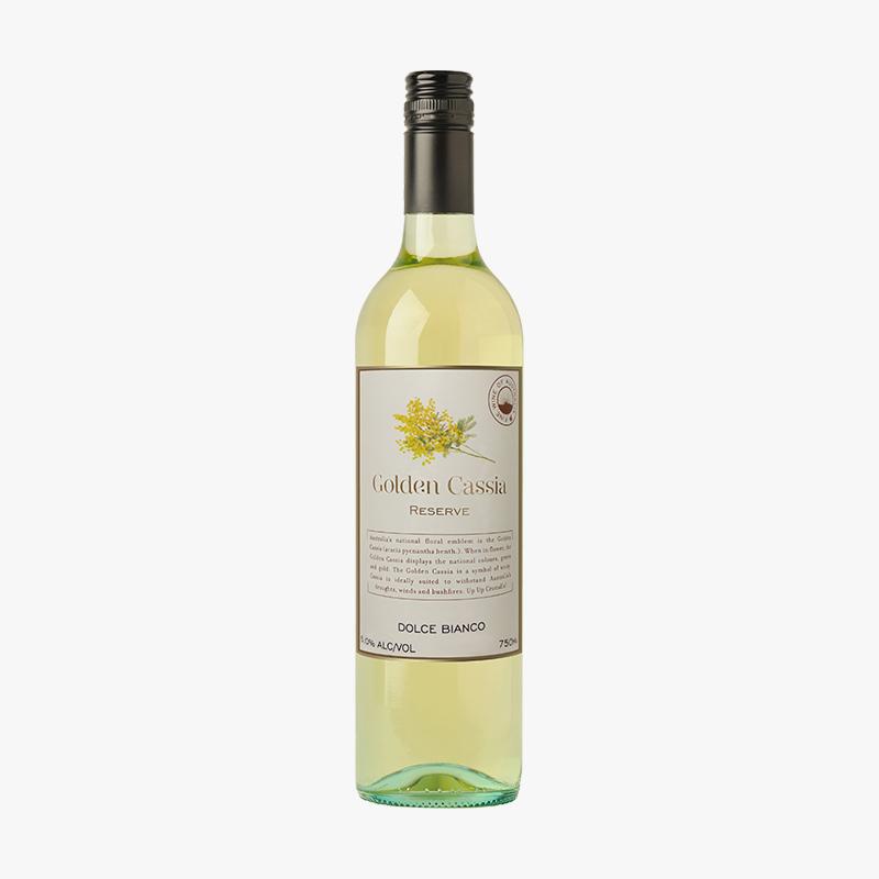 【网红爆款】金色合欢花甜白葡萄酒750ml/瓶 澳洲原瓶原装进口