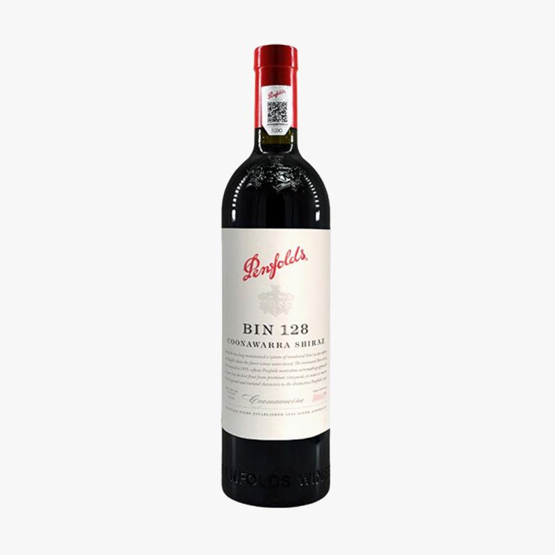 奔富128红酒 澳大利亚原瓶进口bin128干红葡萄酒