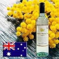 【网红爆款】金色合欢花甜白葡萄酒750ml/瓶|澳洲原瓶原装进口
