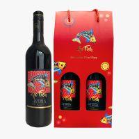 【买一送一】澳洲维多利亚最古老雷洛酒庄飞鱼西拉红葡萄酒2支装