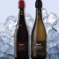 托塞利(TOSELLI)无醇起泡酒(1箱/红*3瓶、白*3瓶)